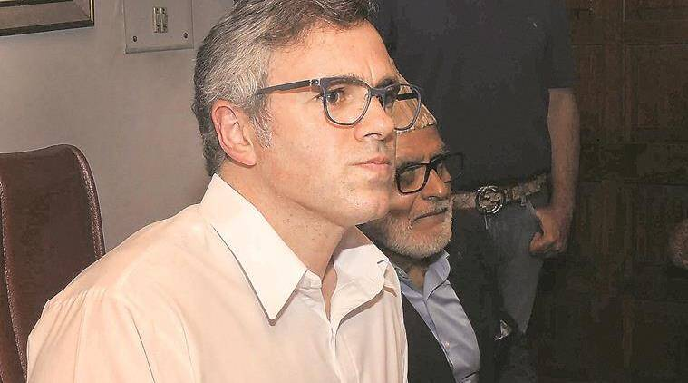 Omar abdullah, Jammu and Kashmir Raj Bhawan's fax machine, governor satya pal malik, governor's fax machine, defunct fax machine, jammu and kashmir news, indian express