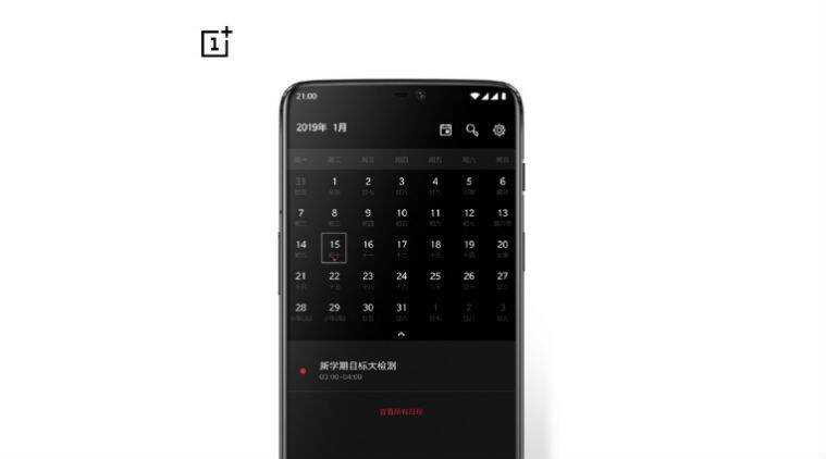 OnePlus 6T setting goals... for next year?