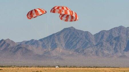 NASA's Orion aces final parachute test ahead of Moon mission