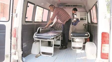 Patient on Board: Ambulance pair Karamjit and Narender count on expert drivingskill