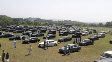 Imran Khan government auctions fleet of luxury cars as part of austeritydrive