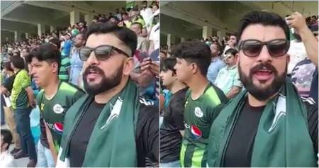Video of Pakistani man singing Indian national anthem during Asia Cup match goes viral
