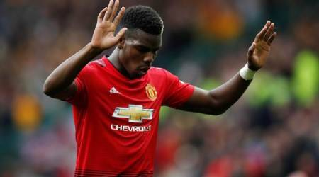 Jose Mourinho strips Paul Pogba of Manchester United vice-captaincy but says 'no row'