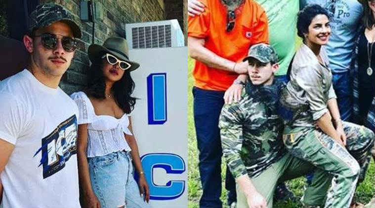Priyanka Chopra showers a sweet kiss on Nick Jonas