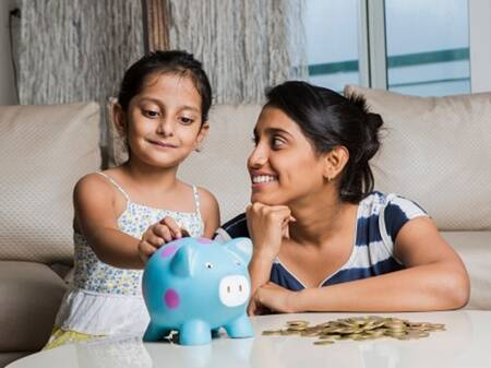 It's not just piggy banks! Teach kids to manage money