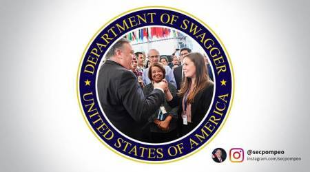 'Department of Swagger' — Secretary Mike Pompeo rechristens Dept of State in new Instagramaccount