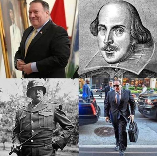 mike pompeo instagram account department of swagger