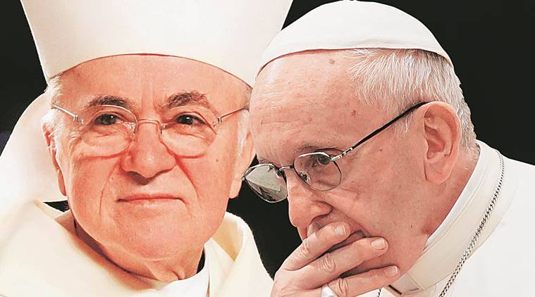 In attack on Pope, the Church's war within