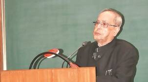 Pranab Mukherjee at IIM-A: Construct of Indian nationalism is 'Constitutionalpatriotism'