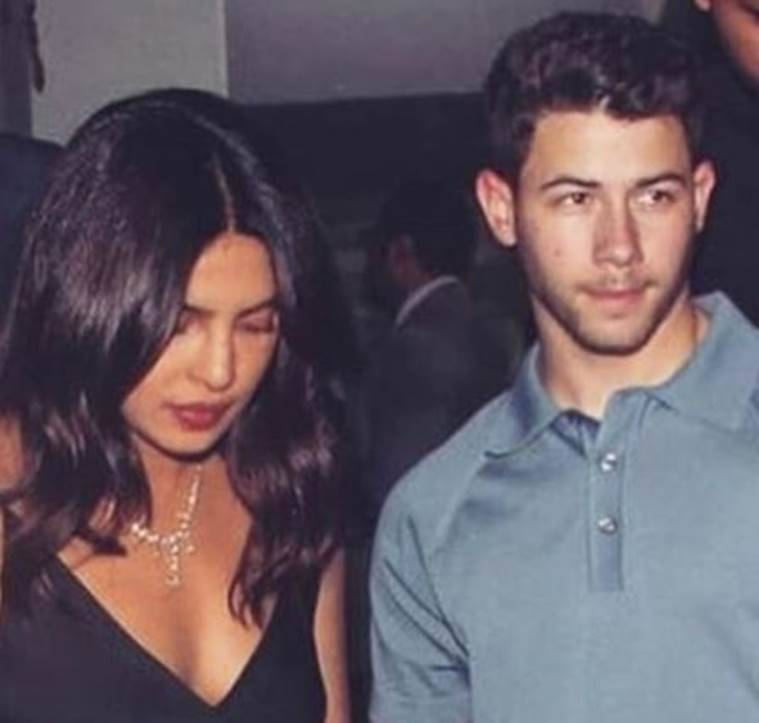 Priyanka Chopra, Nick Jonas in india latest date night photos