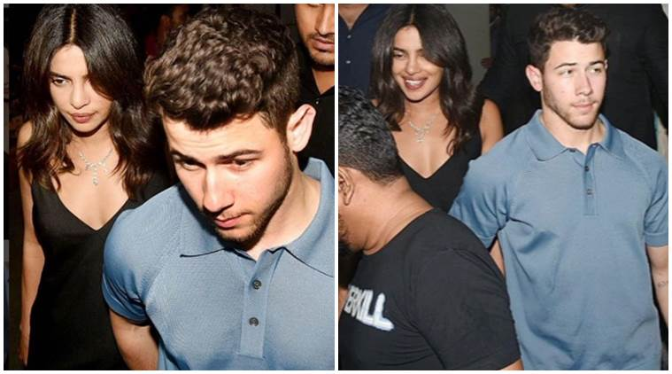 Priyanka Chopra, Nick Jonas in india