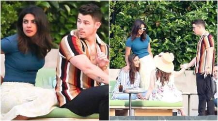 Priyanka Chopra-Nick Jonas, Sonam Kapoor-Anand Ahuja keep it casual by the pool in Italy