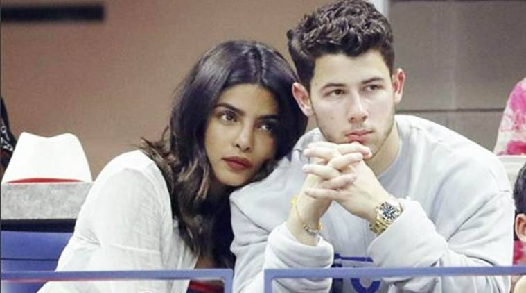 Priyanka Chopra and Nick Jonas at US Open.