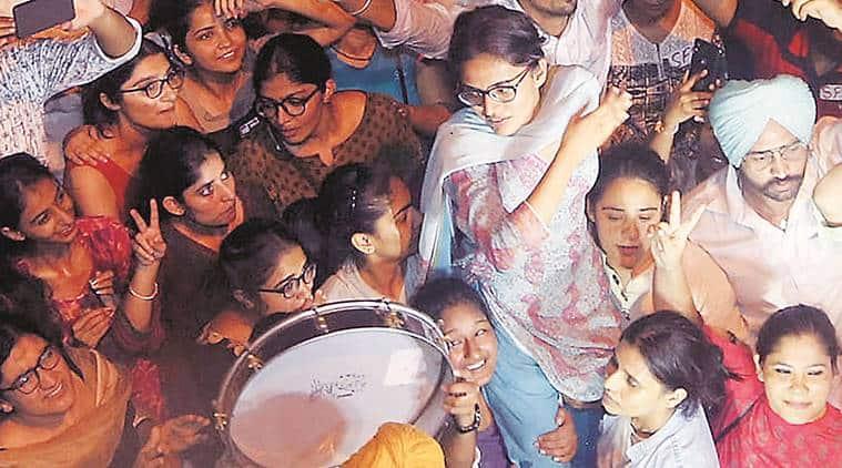 Panjab university, Panjab University student politics, PU Student Council president Kanu Priya, Female Student Council president for PU, Chandigarh News, Indian Express