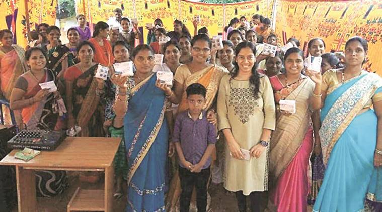 Project Udaan encourages MBA students to create awareness about menstrual hygiene