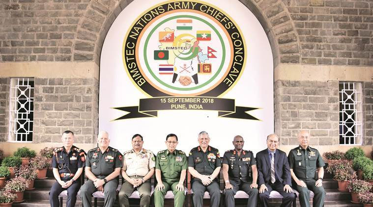 Top Army officials hold discussions on terrorism, transnational crimes