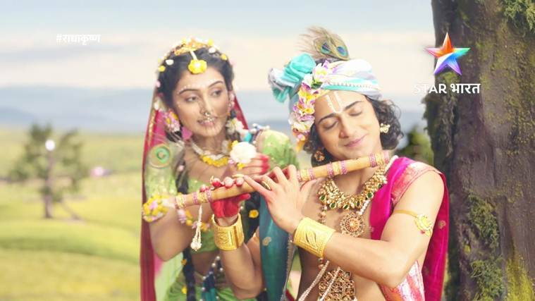 radhakrishna on star bharat