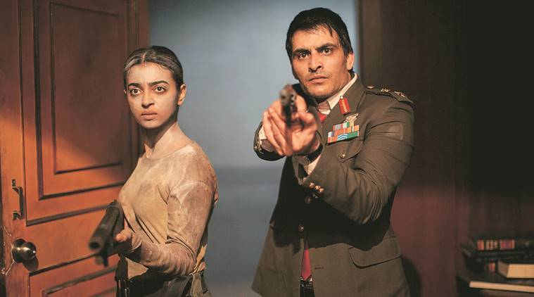 Radhika Apte and Manav Kaul in Ghoul