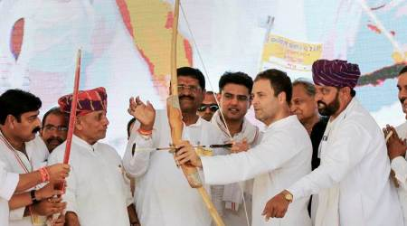 New slogan on streets, India's chowkidar is a thief: Rahul Gandhi in Rajasthan