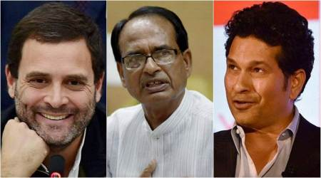 Shivraj Singh Chouhan makes announcements with same pace as Sachin made runs: Rahul Gandhi