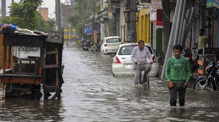 North India Rains Live: Schools and colleges will remain closed in Punjab on Tuesday. (PTI)