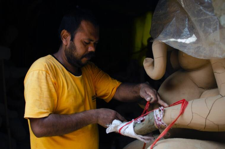 Ganesh Chaturthi: From mud to clay, meet the idol makers of CR park