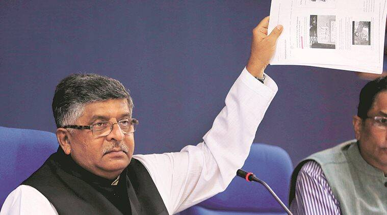 Rafale row: By calling PM Modi 'corrupt', Rahul Gandhi has smeared black paint on his face, says Ravi Shankar Prasad