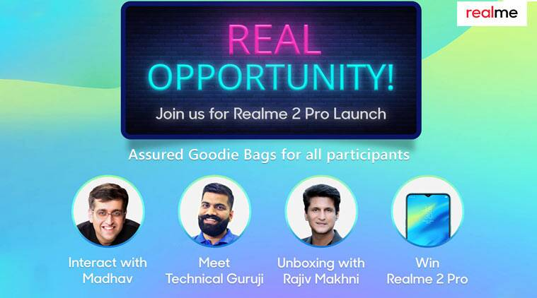 Realme 2 Pro, Realme 2 Pro launch, Realme 2 Pro India launch, Realme 2 Pro vs OnePlus 6T, Realme 2 Pro features, Realme 2 Pro specifications, Realme 2 Pro price in India