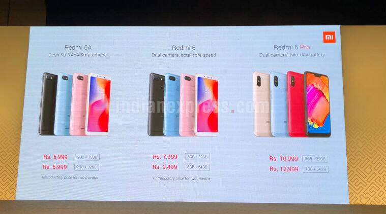 Image result for redmi 6 series