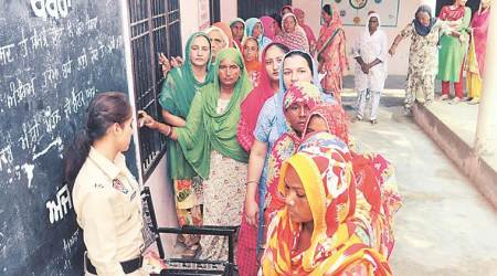 Repoll peaceful, 65 per cent polling in Muktsarbooths