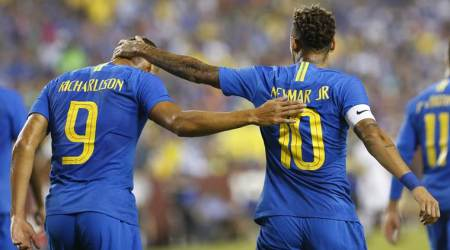 Richarlison doubles helps Brazil to 5-0 triumph against El Salvador