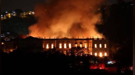 Brazil's 200-year-old National Museum reduced to ashes