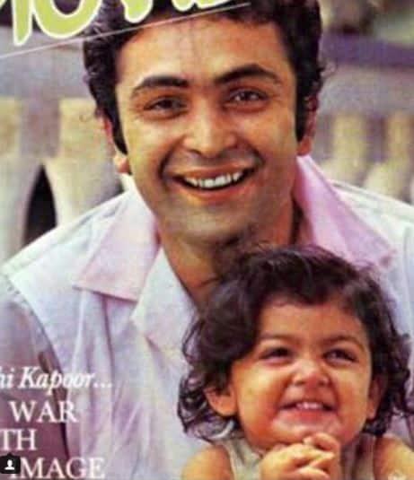 Rishi Kapoor Riddhima Kapoor Sahani