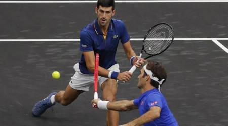 Laver Cup: Novak Djokovic hits teammate Roger Federer during doubles match; watch video