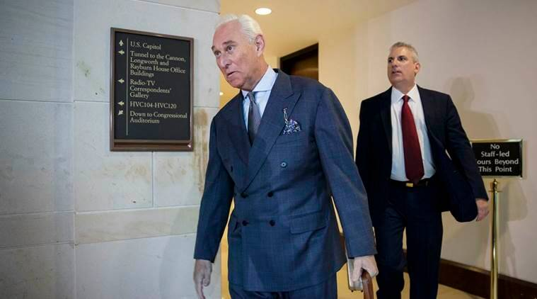 Two associates of Trump adviser Roger Stone questioned in Russia probe