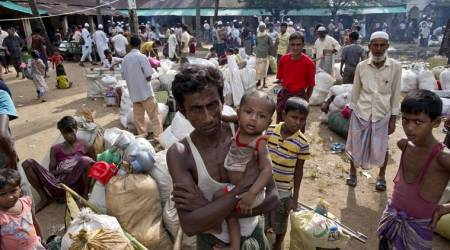 Rohingya refugees, India-Bangladesh border, Rohingya muslims, Rohingya crises, Rohingyas, northeast news, indian express news