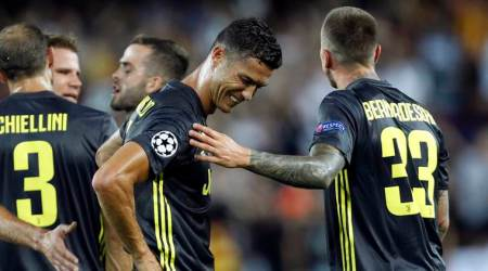 UEFA to review Cristiano Ronaldo's red card on September 27