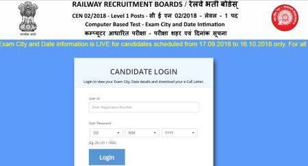 rrb, RRB Group D admit card, rrb group d