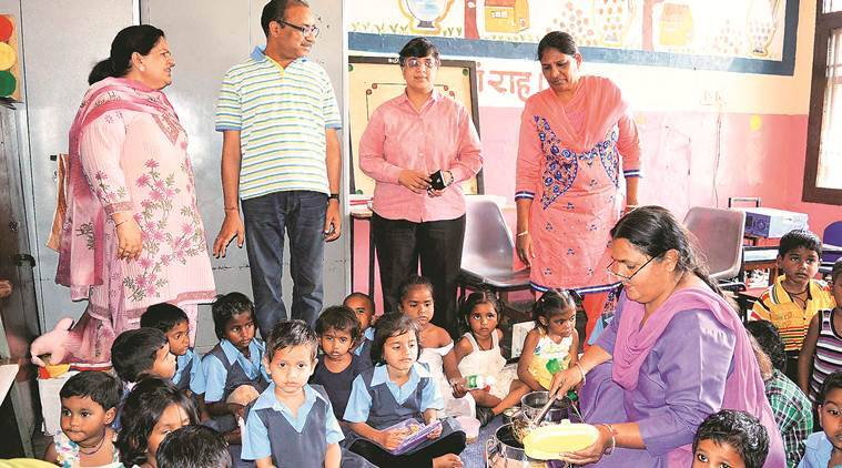 Anganwadi worker sacked for having three kids, Bombay HC, Anganwadi worker, Integrated Child Development Services, ICDS, ICDS small family rule, India, Indian Express