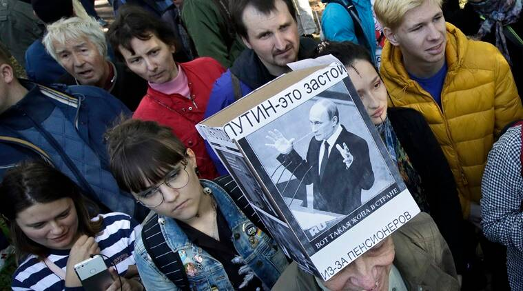 Russians resume protests against pension age reform after ...