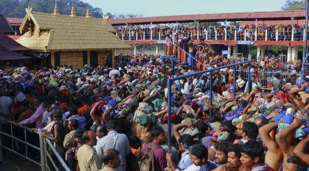 Sabarimala row LIVE updates: Women en route to base camp pulled out of buses by protesters