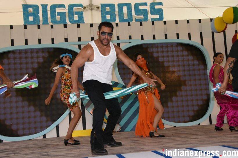 salman khan bigg boss launch photos