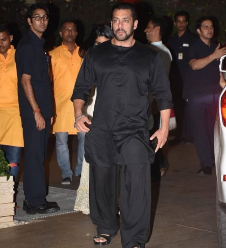 Salman Khan celebrated Ganesh Chaturthi with the Ambanis