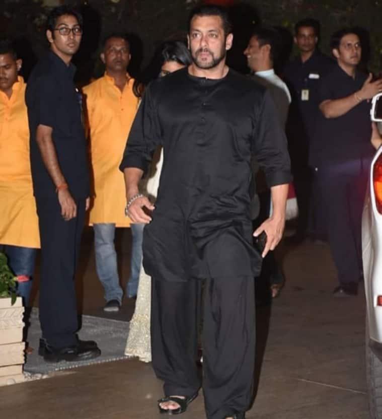 Salman Khan celebrated Ganesh Chaturthi with the Ambanis