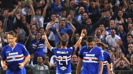 WATCH: Outrageous Fabio Quagliarella flick powers Sampodria past Napoli