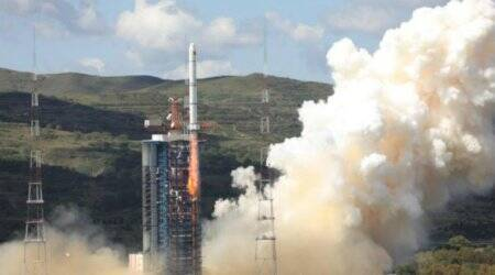 Satellite, Spacecraft, Physical oceanography, Remote sensing, Spaceflight, Aerospace engineering, Outer space, State Administration of Science, Technology and Industry for National Defence, Wang Lili, Shanxi, HY, China Academy of Space Technology, chief