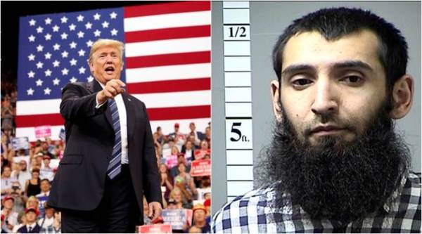 Citing Trump tweets, accused New York attacker seeks to avoid death penalty