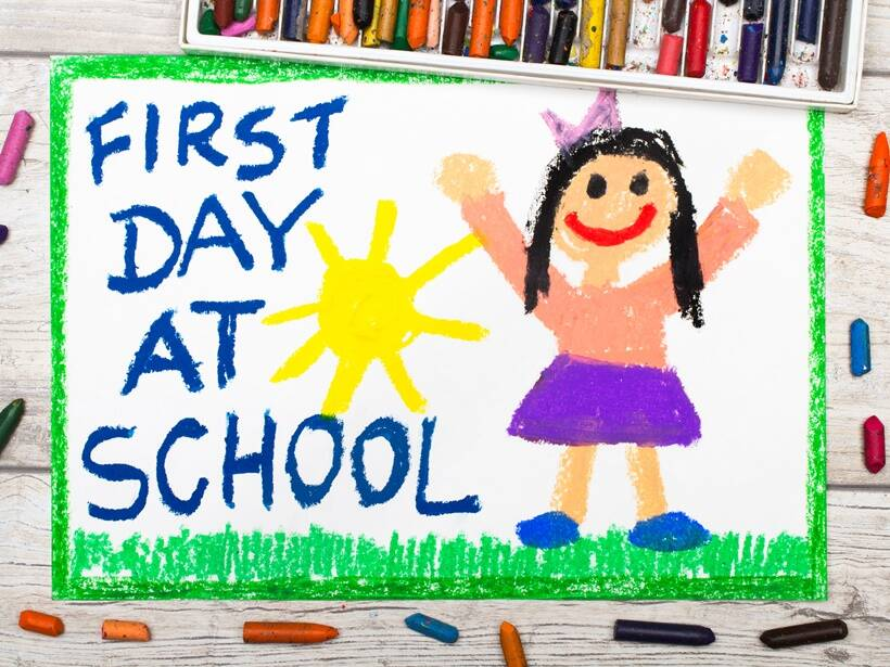 How to mentally prepare for your child's first day at school ...