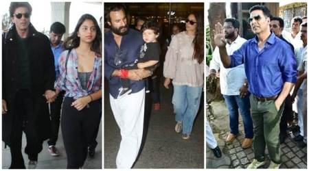 Celeb spotting: Shah Rukh Khan, Kareena Kapoor, Akshay Kumar and others