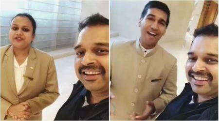 Video: Shankar Mahadevan discovers two amazing singers at a Bengaluru hotel